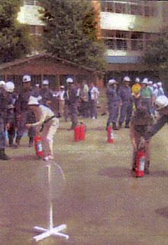 福生市総合防災訓練