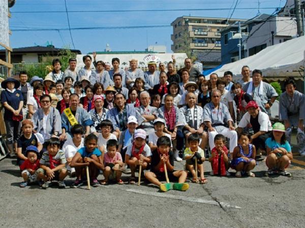 本町町会集合写真